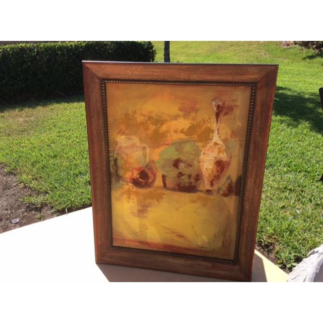 Abstract Expressionist Oil Painting - Image 4 of 5