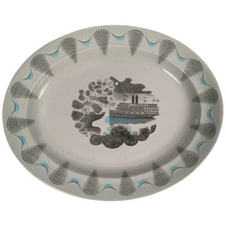 Eric Ravilious Wedgwood Travel Series Steamship Platter