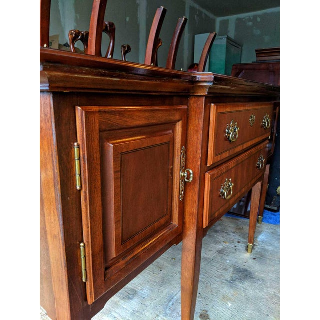 Lexington Furniture Lexington Formal Buffet Arnold Palmer Collection Cherrywood Sideboar For Sale - Image 4 of 6