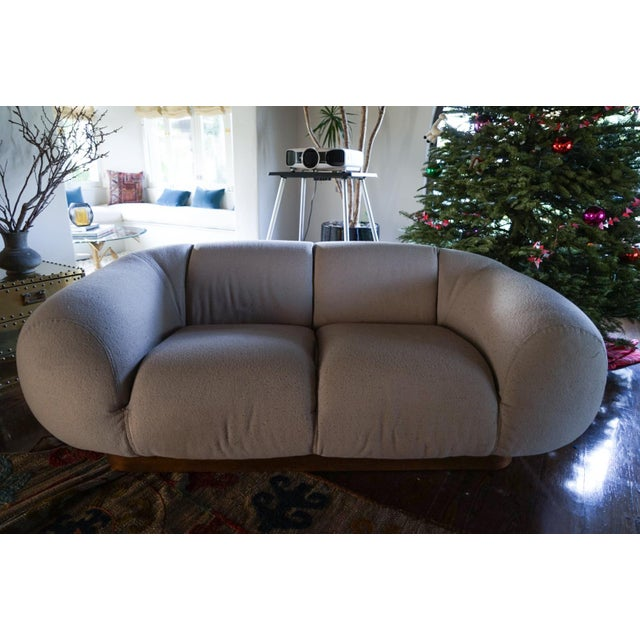 These are truly unique 1970's vintage Italian Sofa's. They were purchased from an interior designer's personal collection...