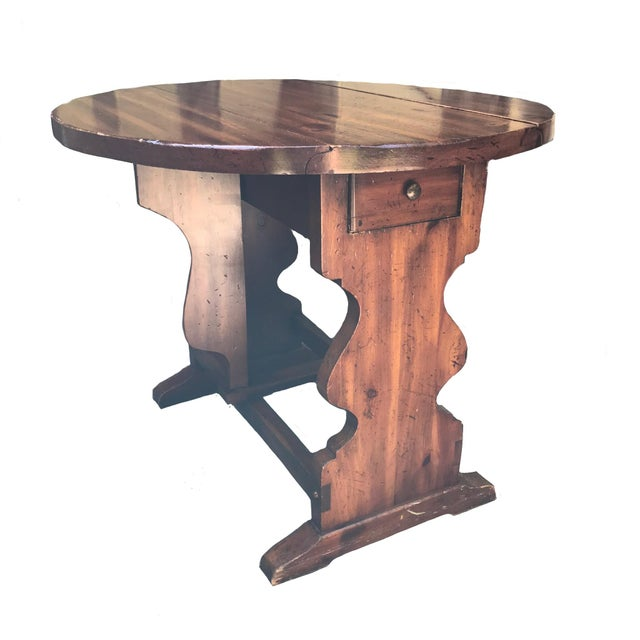 American of Martinsville American of Martinsville Pine Butterfly Drop Leaf Table For Sale - Image 4 of 6