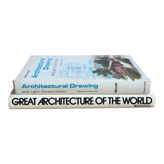 Vintage Architecture Books - A Pair For Sale