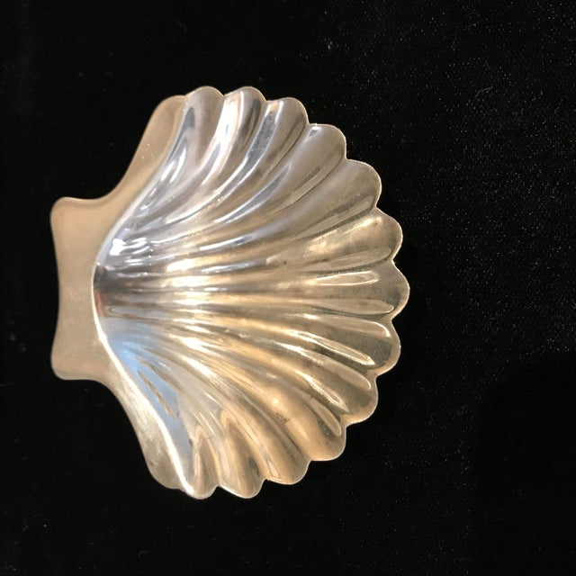 Hollywood Regency Cartier Sterling Silver Seashell Serving Dishes - Set of 5 For Sale - Image 3 of 9