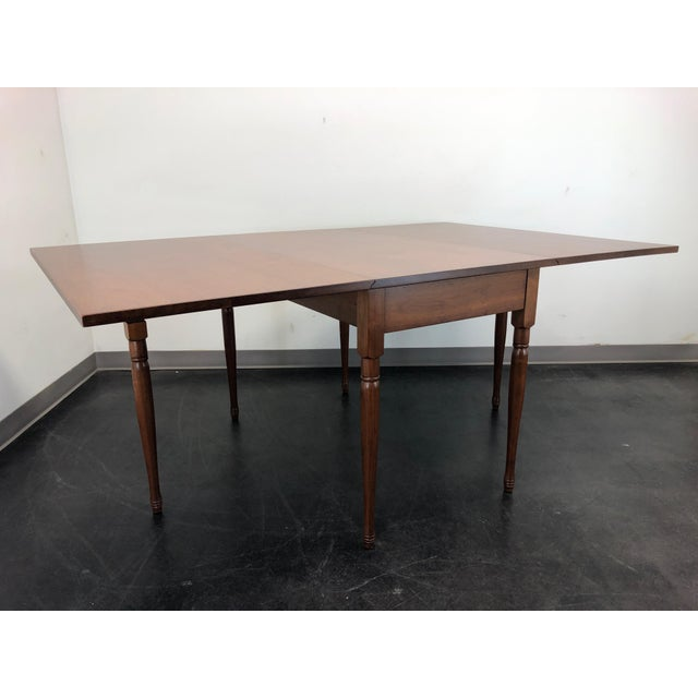 Ea Clore Sons Gate Leg Drop Leaf Table No. 513-T For Sale - Image 4 of 13