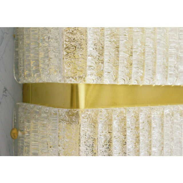 Mazzega Rectangular Sconce For Sale - Image 10 of 11