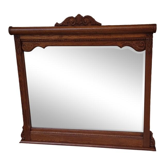Lexington Victorian Sampler Mirror Landscape For Sale