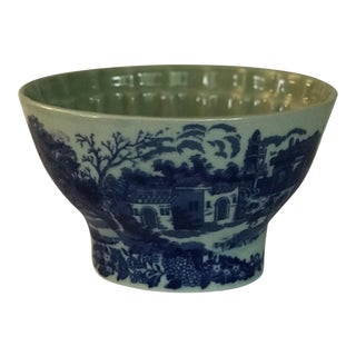 Vintage Victorian Ironstone Bowl For Sale