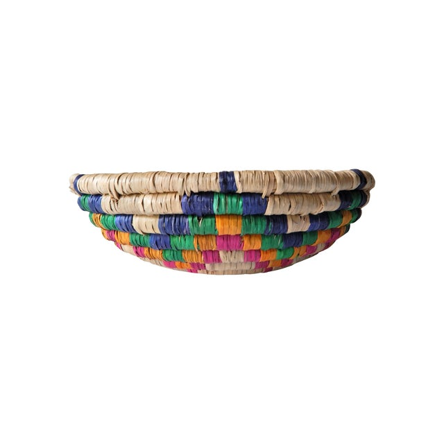 Multi-Color Seagrass Basket - Image 1 of 4