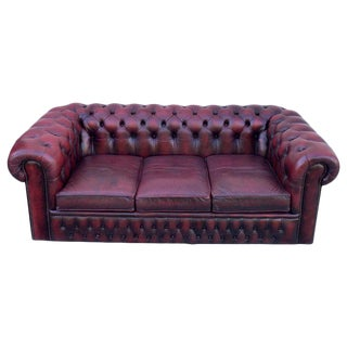 Vintage Used Chesterfield Couches Sofas For Sale Chairish