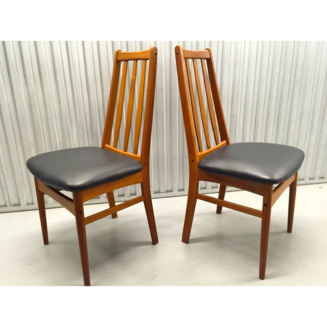 Svegards Marka Teak Dining Chairs - Set of 4 - Image 6 of 11