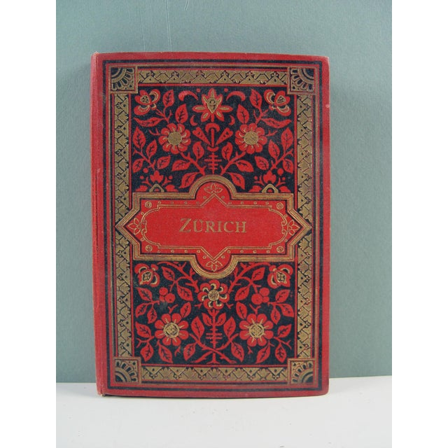 Zurich, Switzerland book of 12 individual photographs of regional castles, monuments, various scenic views. Dresden,...