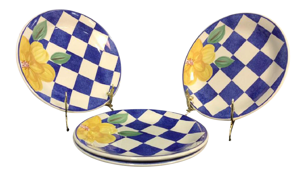 Johnson Brothers \ Picnic\  Plates - Set of 4 - Image ...  sc 1 st  Chairish & Johnson Brothers \