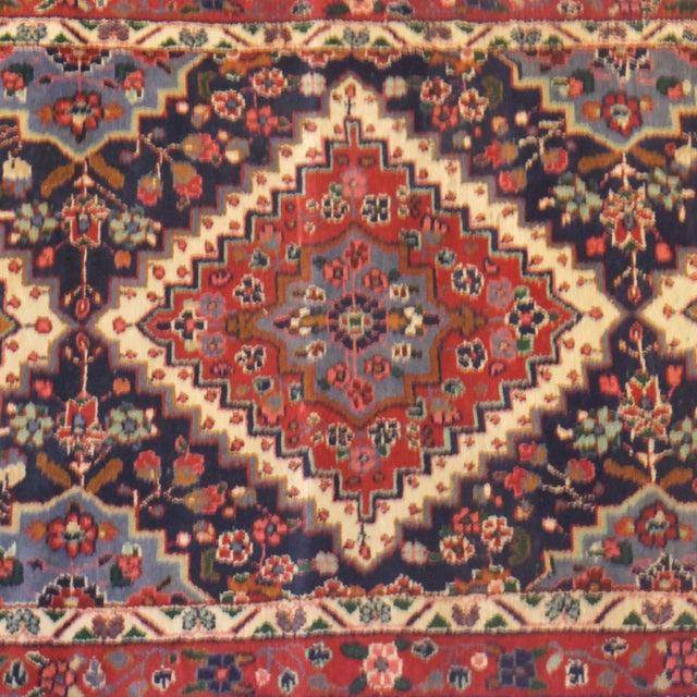 "Persian Hamadan Runner Rug - 9' x 3'6"" - Image 3 of 5"