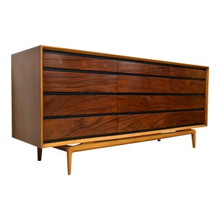 De Coene Freres Rosewood and Walnut Dresser