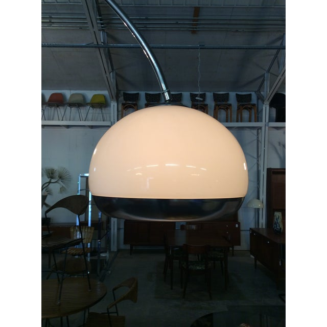 Harvey Guzzini Laurel Arc Floor Lamp For Sale - Image 11 of 11