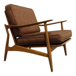 Sculptural Danish Modern Lounge Chair