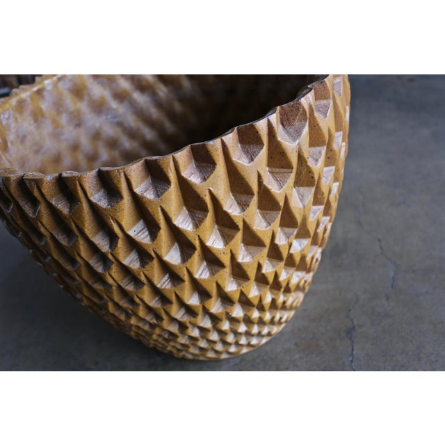 Yellow Phoenix Planter by David Cressey for Architectural Pottery Circa 1963 For Sale - Image 8 of 13
