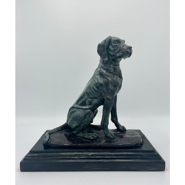 Vintage Maitland-Smith Bronze Sporting Dog For Sale - Image 12 of 12