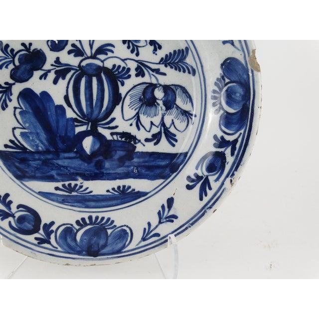 18th Century Dutch Delft Plate - Image 5 of 7
