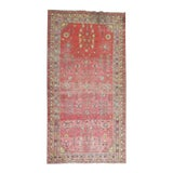 Image of Antique Distressed Khotan Gallery Rug, 6'4'' x 12'8'' For Sale