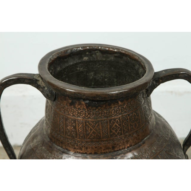 Early 19th Century 19th Century Persian Copper Pot With Handle For Sale - Image 5 of 7