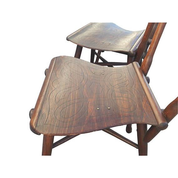 Gebruder Thonet Antique Thonet Garden Chairs - Set of 4 For Sale - Image 4 of 10