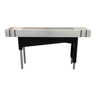 Signed Kesler & Mutrux Custom Console Table For Sale