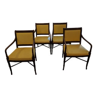 1960s Vintage Hickory Company Armchairs - Set of 4 For Sale