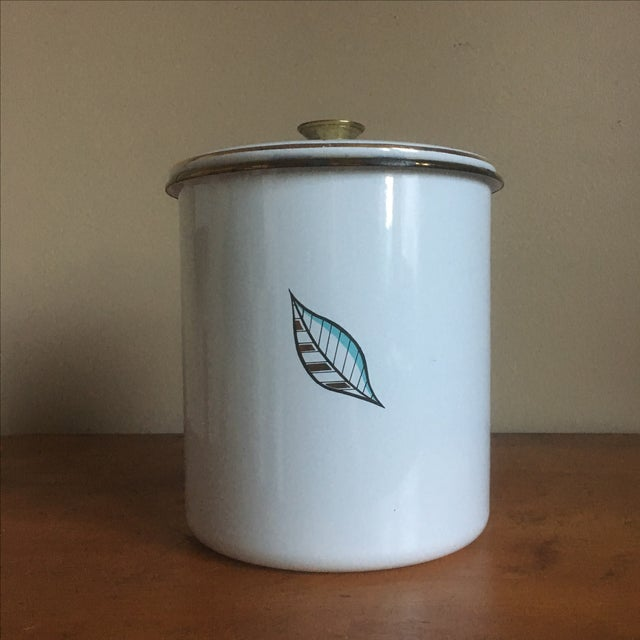 Vintage Georges Briard Mid-Century Cookie Canister - Image 5 of 7