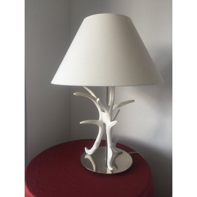 Shell White Coral Branch Lamp For Sale - Image 7 of 8