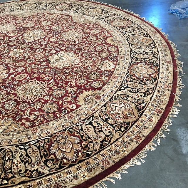 Circular Persian Rug - 14' x 14' - Image 7 of 7