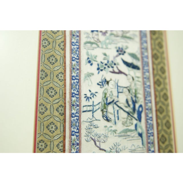 19th Century Chinese Embroidery Panel - Image 8 of 8