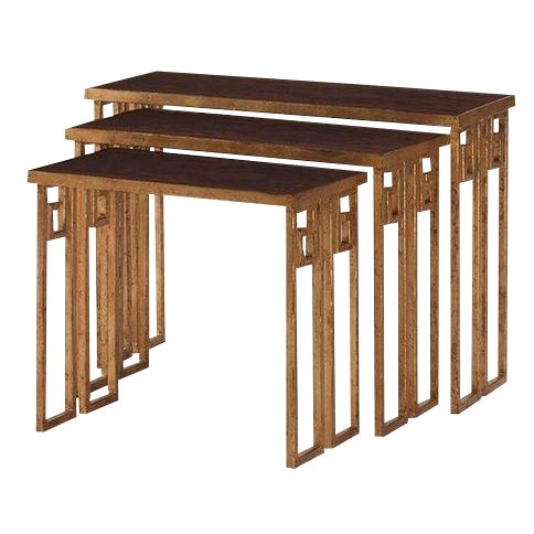 Nesting Tables by Century - Set of Three - Image 1 of 5