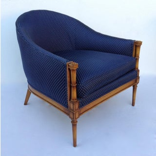 C.1950s Hollywood Regency Slipper Lounge Chair Attr. To Selig Preview