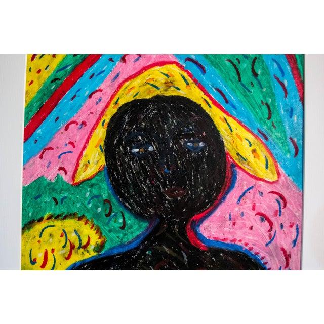 Authentic Haitian Art Original - Image 3 of 3