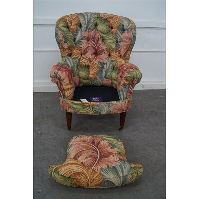 New Orleans by Councill Tufted Fan Back Wing Chair - Image 6 of 10