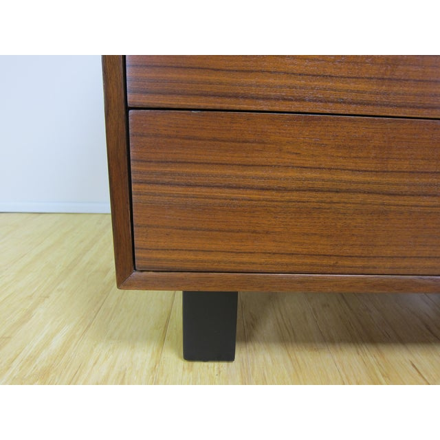 1950s George Nelson for Herman Miller Walnut Dresser For Sale - Image 10 of 13