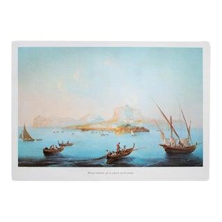 "1964 "" Fishermen of the Coast of Capri"" Original Lithograph For Sale"