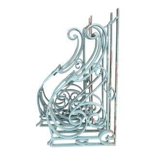 Rustic Wrought Iron Corbels - a Pair For Sale