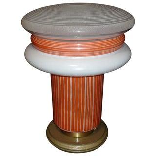 Italian Murano Table Lamp