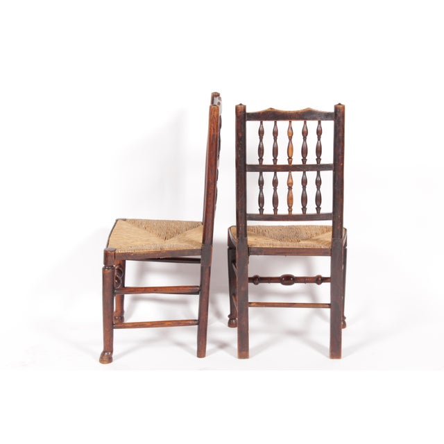 19th-C. Antique English Dining Chairs - Set of 4 - Image 4 of 11