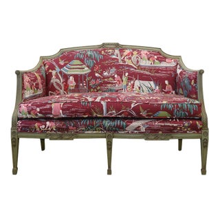 Yangtze River French Settee For Sale