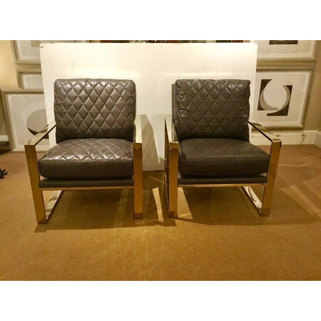 Caracole Welcome Back Chairs - a Pair - Image 7 of 7
