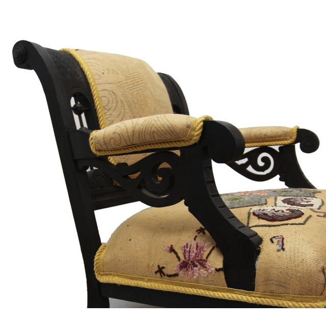 Armchair - Aesthetic Movement - Image 3 of 6