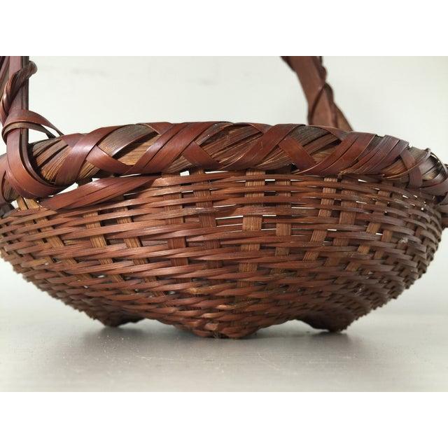 Woven Japanese Ikebana Baskets - A Pair - Image 9 of 11