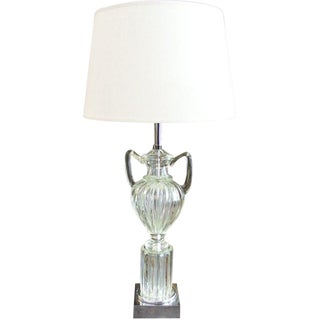 Marbro Trophy/Urn Murano Table Lamp For Sale