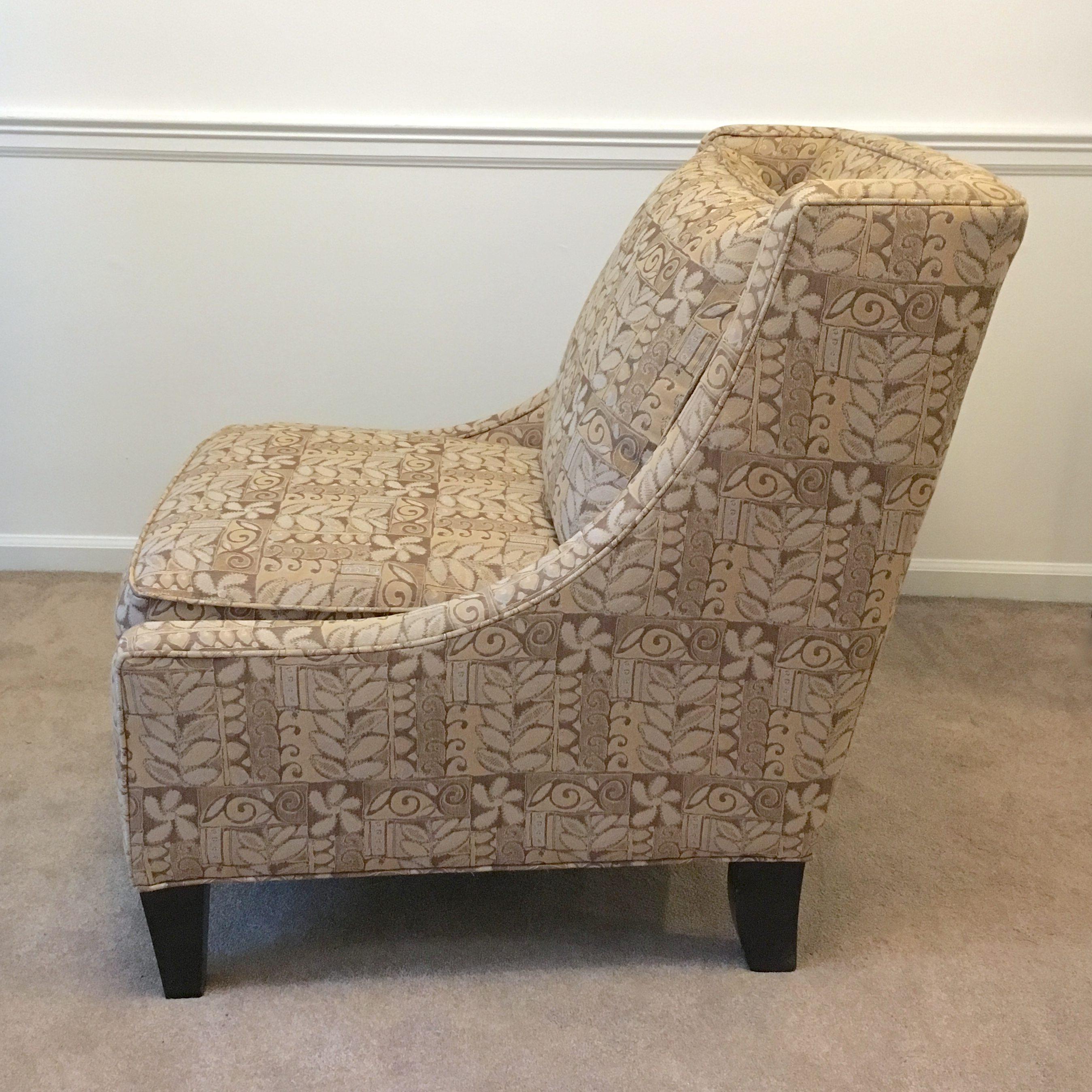 Broyhill Armless Club Chair   Image 2 Of 7