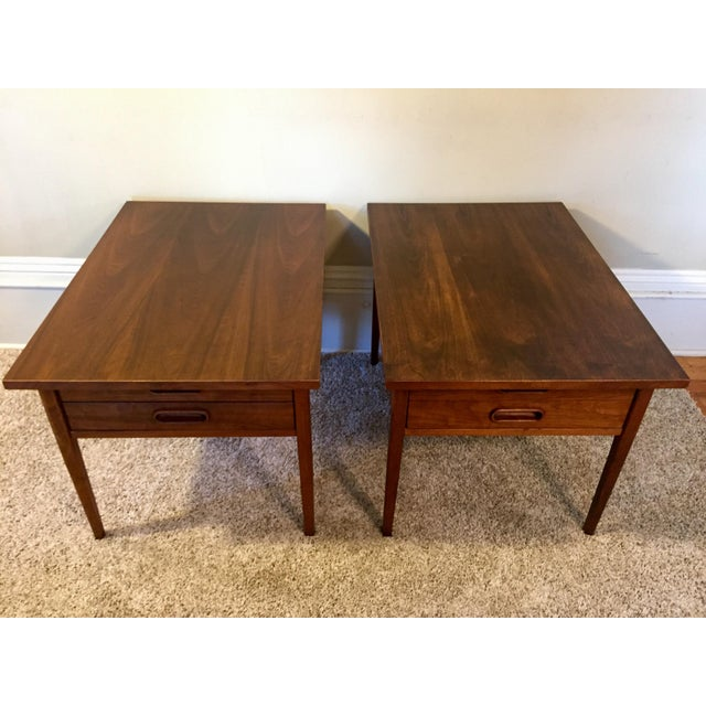 Jack Cartwright End Tables for Founders - A Pair For Sale In Detroit - Image 6 of 11