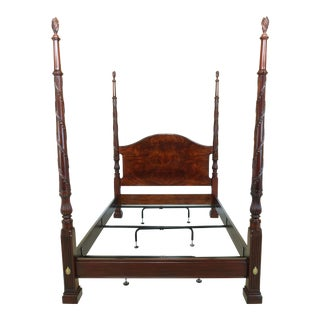 Henkel Harris Model 199 Queen Size Mahogany Poster Bed For Sale