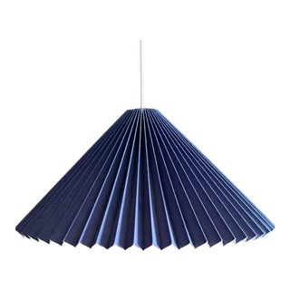 Mid Century Caprani Hanging Ceiling Light, Signed For Sale